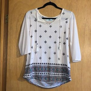 Maurices 3/4th Sleeve Blouse